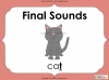 Final Sounds (slide 1/16)