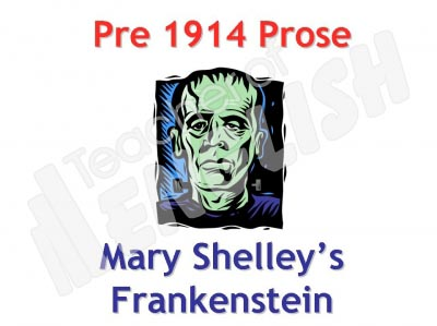 Frankenstein Teaching Resources