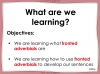 Fronted Adverbials - Year 3 and 4 Teaching Resources (slide 2/23)