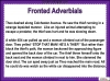 Fronted Adverbials (slide 17/21)