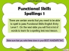 Functional Skills English - EL1 Teaching Resources (slide 14/159)
