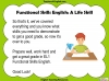 Functional Skills English - EL1 Teaching Resources (slide 146/159)