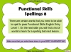 Functional Skills English - EL1 Teaching Resources (slide 147/159)