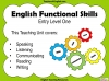 Functional Skills English - EL1 Teaching Resources (slide 2/159)