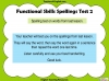 Functional Skills English - EL1 Teaching Resources (slide 45/159)