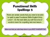 Functional Skills English - EL1 Teaching Resources (slide 78/159)