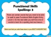 Functional Skills English - Entry Level 3 Teaching Resources (slide 61/150)