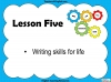 Functional Skills English - Entry Level 3 Teaching Resources (slide 75/150)