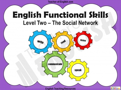Functional Skills English Level 2 Teaching Resources