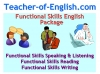 Functional Skills English Package Teaching Resources (slide 1/281)