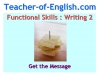 Functional Skills English Package Teaching Resources (slide 196/281)