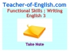 Functional Skills English Package Teaching Resources (slide 207/281)