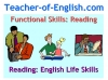 Functional Skills English Reading