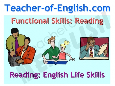 Printables Functional Reading Worksheets functional skills english reading powerpoint and worksheets reading