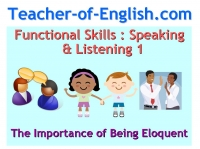 Functional Skills English Speaking & Listening Presentation