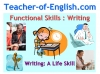 Functional Skills Writing