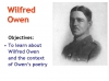 Futility (Wilfred Owen) Teaching Resources (slide 4/47)
