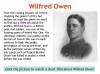 Futility (Wilfred Owen) Teaching Resources (slide 5/47)