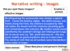 GCSE English (9-1) Narrative Writing (slide 58/149)