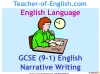GCSE English (9-1) Narrative Writing (slide 80/149)