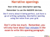 GCSE English (9-1) Narrative Writing (slide 91/149)