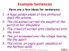 GCSE English (9-1) Writing Fiction - Descriptive Writing (slide 25/91)