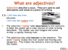 GCSE English (9-1) Writing Fiction - Descriptive Writing (slide 28/91)