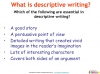 GCSE English (9-1) Writing Fiction - Descriptive Writing (slide 3/91)
