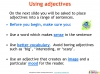 GCSE English (9-1) Writing Fiction - Descriptive Writing (slide 31/91)