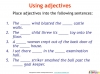 GCSE English (9-1) Writing Fiction - Descriptive Writing (slide 32/91)