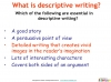 GCSE English (9-1) Writing Fiction - Descriptive Writing (slide 4/91)