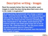 GCSE English (9-1) Writing Fiction - Descriptive Writing (slide 48/91)