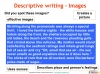 GCSE English (9-1) Writing Fiction - Descriptive Writing (slide 49/91)
