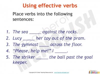 gcse english descriptive writing