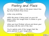 GCSE Poetry and Place Teaching Resources (slide 3/68)