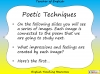 GCSE Poetry and Place Teaching Resources (slide 50/68)