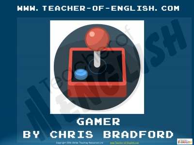 Gamer by Chris Bradford