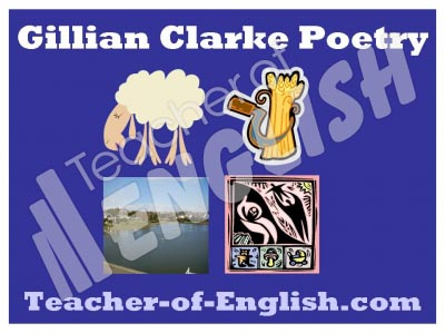 Gillian Clarke Poetry Pack Teaching Resources