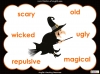 Halloween Adjectives Teaching Resources (slide 11/26)