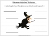 Halloween Adjectives Teaching Resources (slide 12/26)