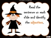 Halloween Adjectives Teaching Resources (slide 13/26)