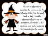 Halloween Adjectives Teaching Resources (slide 20/26)