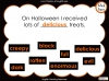 Halloween Adjectives Teaching Resources (slide 24/26)