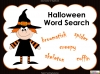 Halloween Word Search 2