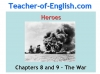 Heroes (Robert Cormier) Teaching Resources (slide 74/126)