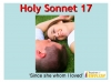 Holy Sonnet 17 (slide 1/37)