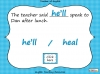 Homophones - Year 3 and 4 Teaching Resources (slide 13/19)
