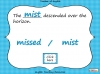 Homophones - Year 3 and 4 Teaching Resources (slide 17/19)