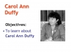 Hour  Carol Ann Duffy (slide 4/40)