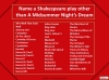 House of Games - A Midsummer Night's Dream Teaching Resources (slide 104/126)
